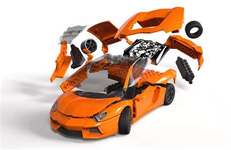 J6007 Airfix Build Lamborghini Aventador Lego
