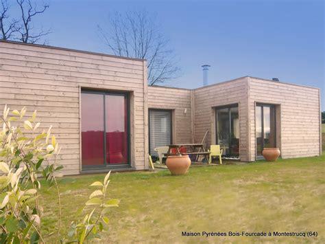 Maisons Toit Terrasse by Maison Bois Toit Terrasse Pyr 233 N 233 Es Bois Maisons