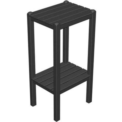 side table height polywood 174 bar height side table