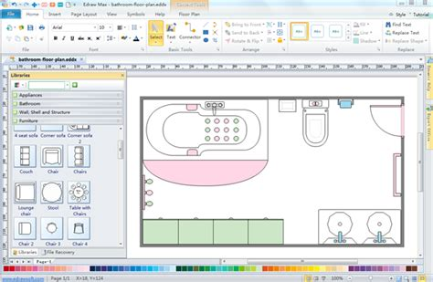 Bathroom Design Planning Tool by Bathroom Floor Planner