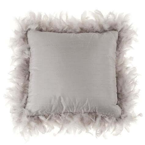 Pillows With Feathers by Feather Boa Pillow Fabulous Decorating Ideas Feathers Pillows And Feather Boas