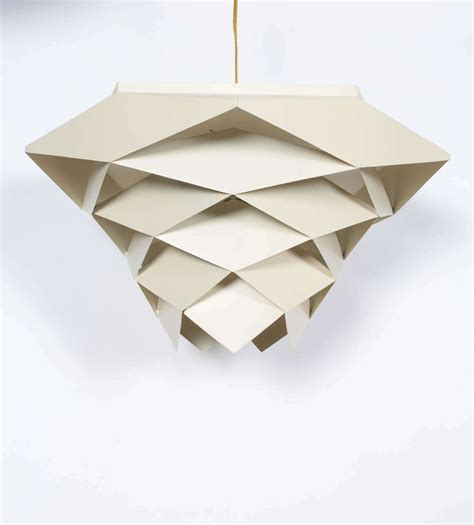 Geometric Off White Light Fixture At 1stdibs Geometric Light Fixtures