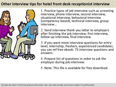 front desk receptionist interview questions hotel front desk receptionist interview questions