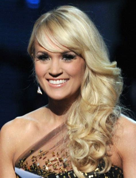 hairstyles side curls 36 carrie underwood hairstyles carrie underwood hair