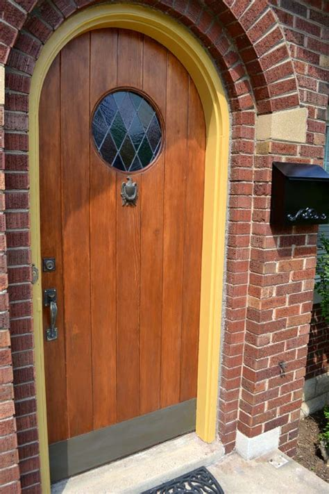 Repainting Front Door by Stripping And Repainting Our Front Door Frame Lansdowne