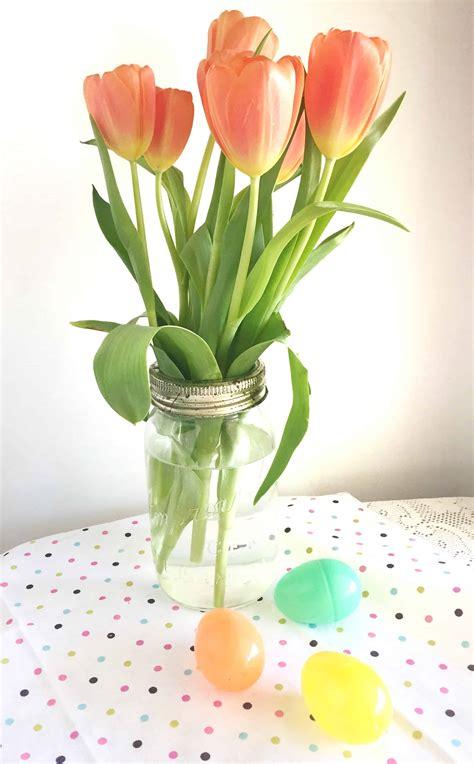 20 jar centerpieces using flowers moment