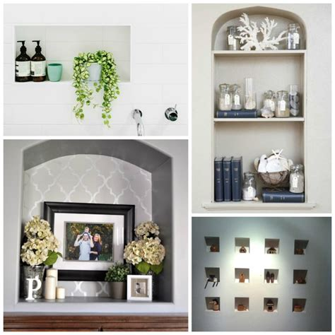Decorating Ideas Niches How To Decorate A Niche Elements At Home