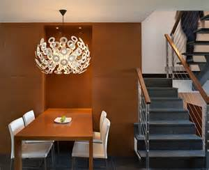modern minimalist chandeliers dining room home interiors