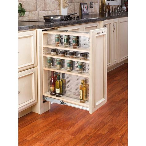 Kitchen Cabinet Filler by Rev A Shelf 30 In H X 9 In W X 23 In D Pull Out Between
