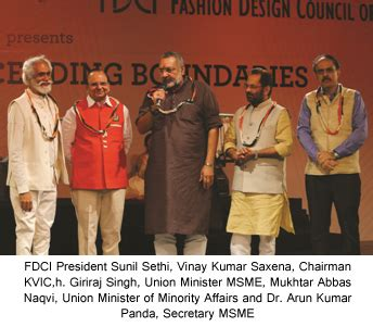 convention 2018 india india fdci and kvic s khadi fashion show at sme