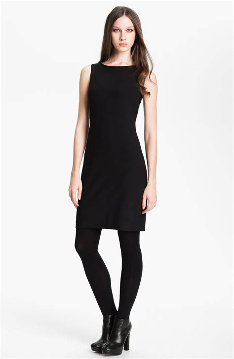theory betty tailor dress in black lyst