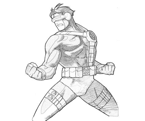 cyclops coloring pages coloring pages