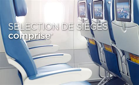 air transat selection siege option plus air transat