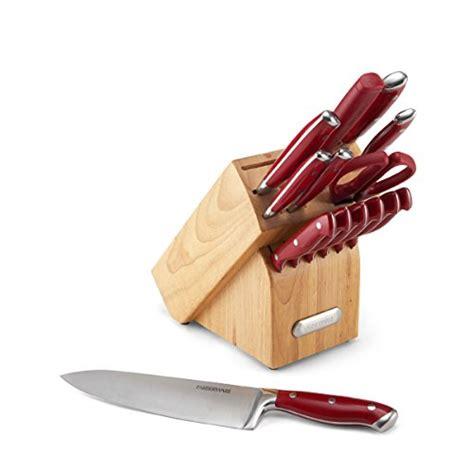 farberware 15 forged riveted knife block set