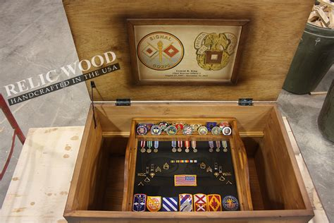 army gifts retirement trunks a new twist on an