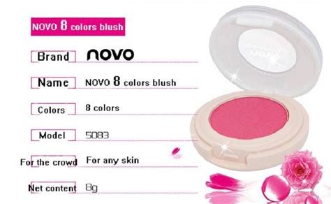 Promo Alat Kecantikan Blue Bb Cushion Makeup Color novo monochrome blush on 8g no 4 carmine jakartanotebook