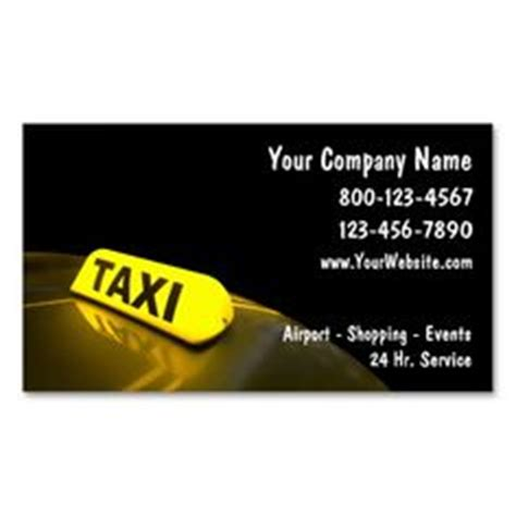 taxi name card template 1000 images about taxi business card templates on