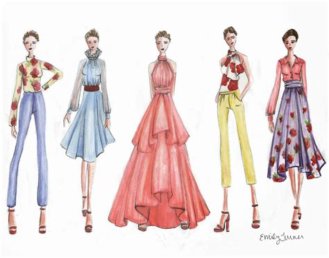 fashion design portfolio sles emily turner designs