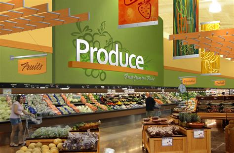 interior market design grocery store rendering produce