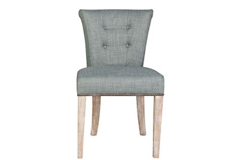 sky blue dining chair