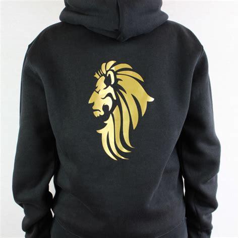 hoodie design cheap uk wrenster unisex lion design hoodie black wrenster design
