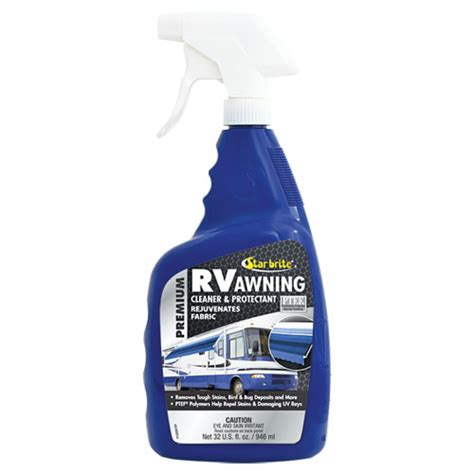 rv awning cleaner 32 oz premium rv awning cleaner protectant