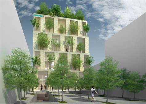 Where Can I Buy A Tiny House vo trong nghia architects to build vertical forest office