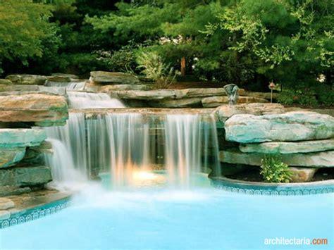ide desain aquascape waterfall  keren