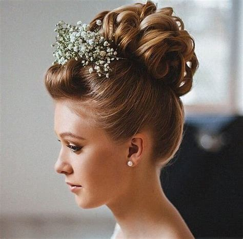 Wedding Hairstyles With Front Bangs by 40 Chic Wedding Hair Updos For Brides