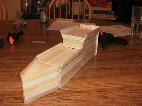 how to build a boat using popsicle sticks how to build a wooden popsicle stick ship all