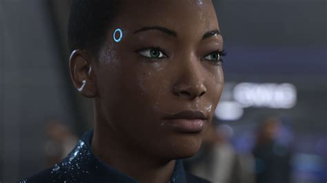 film robot becomes human woman robot character in the game detroit become human