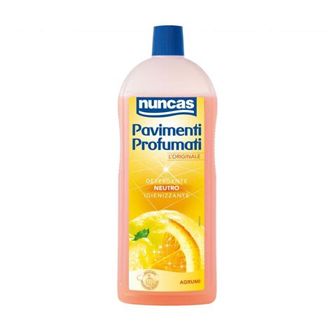 nuncas pavimenti detergente neutro profumato ad a