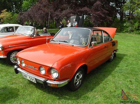 skoda 110 r coupe car classics