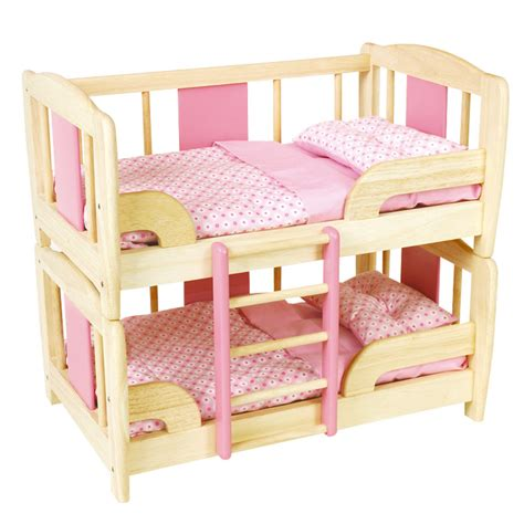 bed dolls doll s bunk bed pintoy