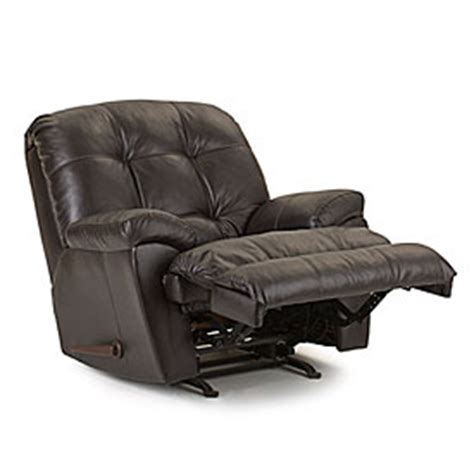 simmons manhattan faux leather recliner simmons 174 manhattan faux leather recliner big lots