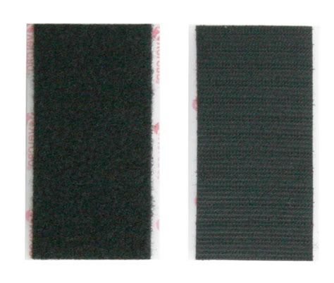 Velcro Pad 2x4 velcro touch pad pair with adhesive back