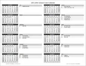 Calendar Of Events Template Word by School Calendar Template 2016 2017 School Year Calendar