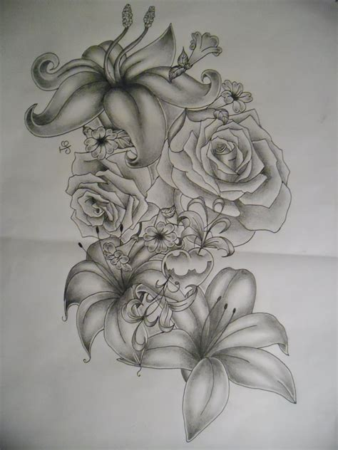 side flower tattoo designs flower designs for side of tattoos