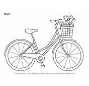 Step By How To Draw A Cute Bicycle