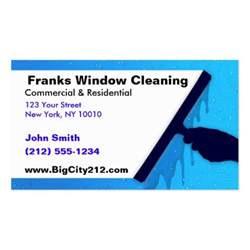 window cleaning business cards customizable window cleaning bc business card template