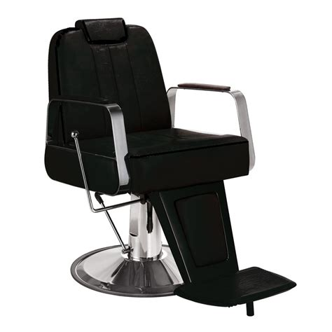 white styling chair with headrest titus barber chair with headrest black salon furniture