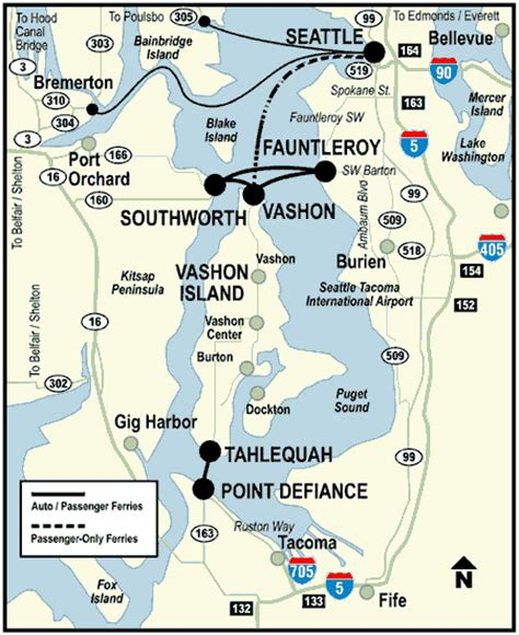washington state ferries map seattle ferry map afputra