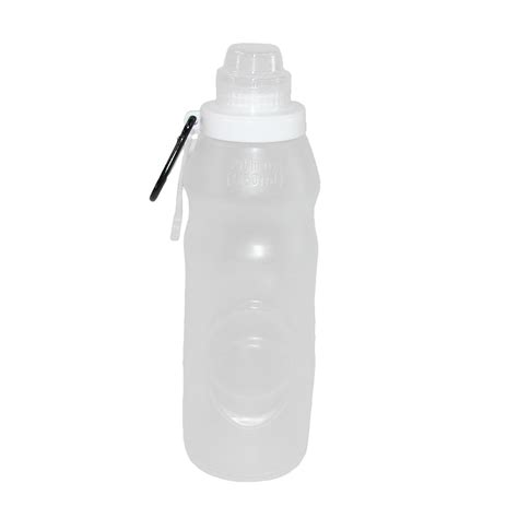 travel water bottle folding travel water bottle with clip by enroute travel comfort convenience at