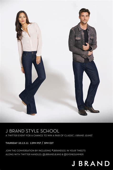 Win A Pair Of J Brand by J Brand Style School Tweet Win Sydne Style