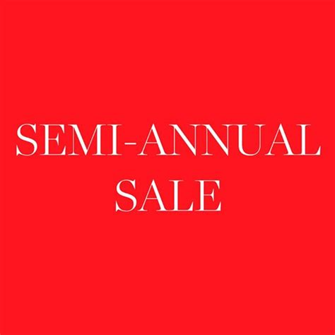 Semi Annual Sale coach semi annual sale