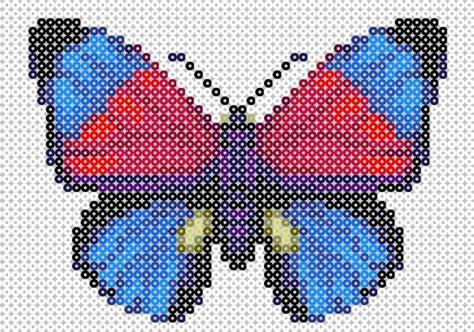 Butterfly Hama Pattern Perler Bead