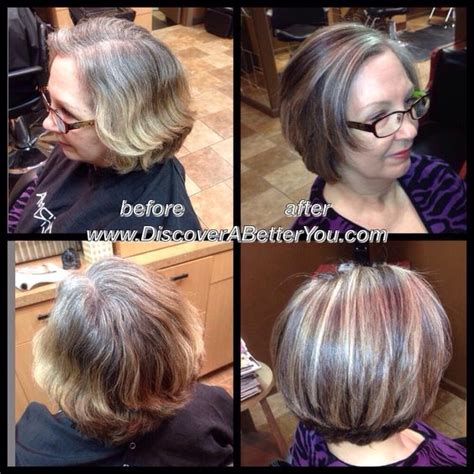 gray dark dark low lights foils medium natural level 5 with 50 gray added level 6