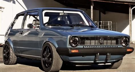 Volkswagen Sleeper this vw golf mk1 has a amount of power drive