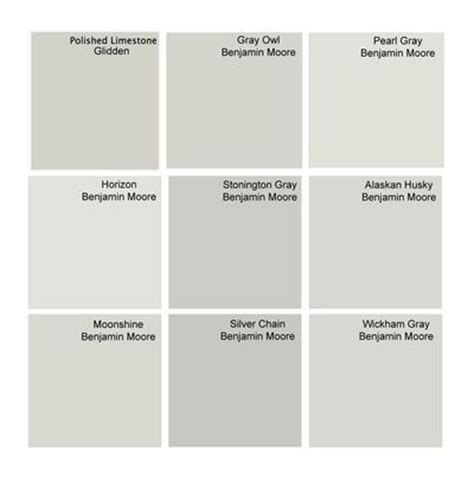 best gray paint colors glidden polished limestone benjamin for the home juxtapost
