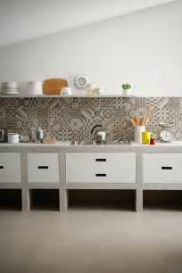 creative backsplash ideas for kitchens 12 creative kitchen tile backsplash ideas design milk